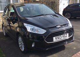 Ford B-Max 1.0 T EcoBoost Titanium City Pack 5dr: MOT 4/19, £30 Tax, Parking Sensors & Reversing Cam