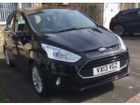 Ford B-Max 1.0 T EcoBoost Titanium City Pack 5dr: MOT 4/19, £30 Tax, Parking Sensors & Reversing Cam