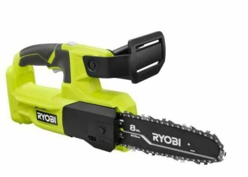 Ryobi One+ 8 in. 18-Volt Lithium-Ion Battery Pruning Chainsaw (Tool-Only)