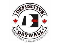 (Definitive Drywall/ Crack Fill & Paint) Free Estimates 292-3662
