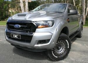 2016 Ford Ranger PX MkII XLS Double Cab Silver 6 Speed Sports Automatic Utility Southport Gold Coast City Preview