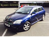 Toyota Corolla 1.4 VVT-i T3/ 2004/ low mileage/ excellent condition