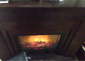 Electric fireplace/heater