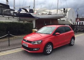 2013 Volkswagen Polo 1.4 Match Edition 1 Year Mot Cat C Low mileage 14000
