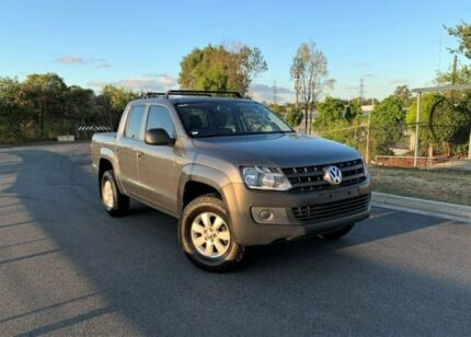 2014 Volkswagen Amarok 2H MY14 TDI340 4x2 Grey 6 Speed Manual Cab Chassis Darra Brisbane South West Preview