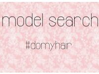 Hair extension model search