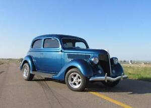We have a 1936 Ford 2tudor humpback Sedan Located in SK
