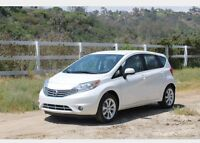 Lease take over 2014 Nissan Versa note!