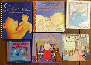 BEDTIME Board Books $3 each or all 6 for $10