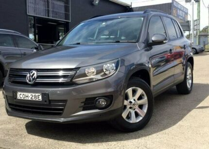 2013 Volkswagen Tiguan 5N MY13.5 Grey 7 Speed Sports Automatic Dual Clutch Wagon Kings Park Blacktown Area Preview
