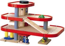 Wooden Garage - Plan Toy