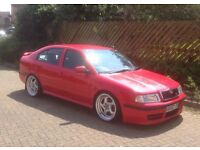 Skoda Octavia VRS 1.8 turbo modified.