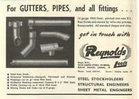 1953 Hl Reynolds Old Leeds Steel Works Ad - reynolds - ebay.co.uk