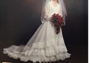Wedding dress - size 3