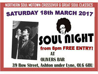 Oliver's Bar Soul Night ( FREE ENTRY ! )