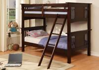 ★INVENTORY LIQUIDATION★ D/D BUNK BED $449.*★DRAWERS $99. SALE !!
