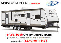 40% OFF RV INSPECTIONS!