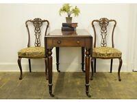 Antique Early Victorian Mahogany Pembroke Table