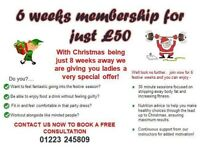 6 week Gymophobic membership