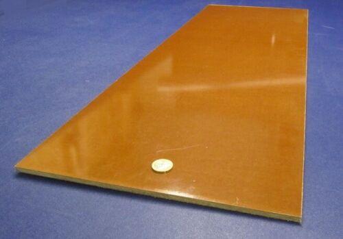 "Garolite Micarta Canvas Phenolic CE  Sheet .250"" (1/4"") Thick x 12"" x 36"""