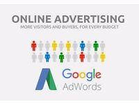 Hire me, to setup and manage your Google AdWords