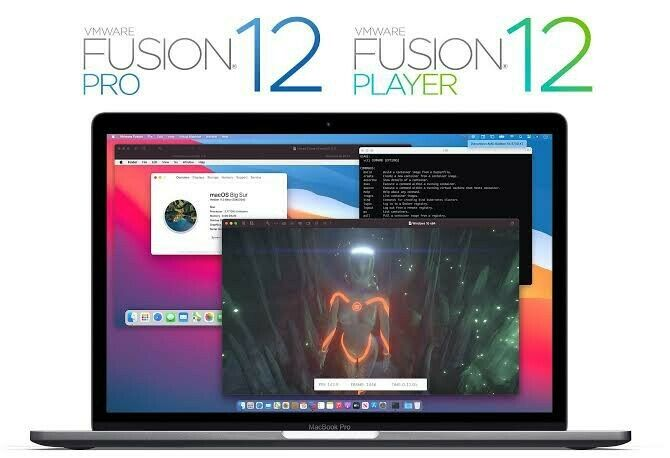new VMWARE fusion pro 12 licence key latest release for Mac OSx multidevice