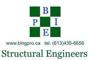 structural engineers miscellaneous design ottawa