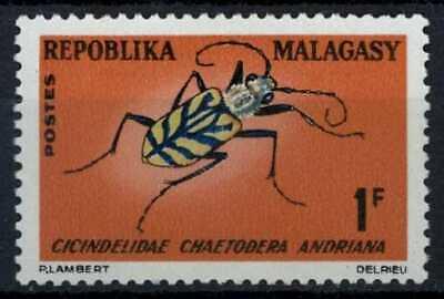 Malagasy Rep. 1966 SG#112, 1f Insect MH #E83491