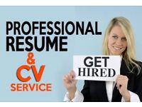 CV Writing from £20, Professional CV Writer, 500+ Great Reviews, FREE CV Check, CV Help