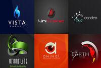 Le design de votre logo d'entreprise à partir de 30$