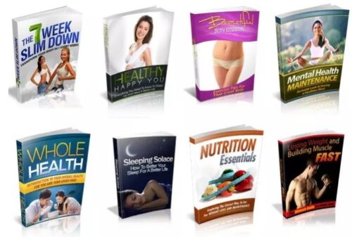 100 Fitness And Health eBooks Free Shipping With Master Resell Rights (PDF)
