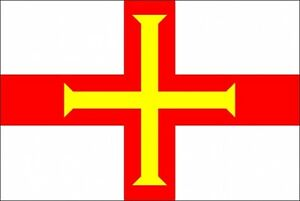 GUERNSEY-3-X-2-FEET-FLAG-Channel-islands-Saint-Peter-Port-UK