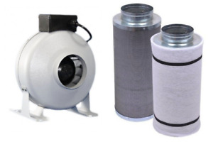 Hydroponic Carbon Air Filters - Inline Fans - Duct Fan