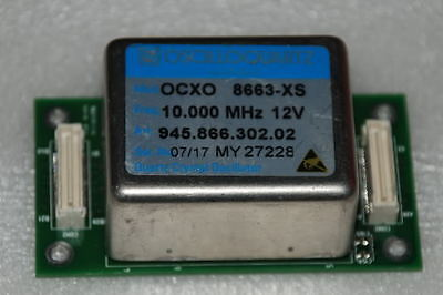 10 Mhz Double Oven Ocxo Sinewave Tmp04 8663-xs 12v Oscilloquartz