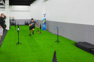 Indoor Gym Turf -Synthetic, Artificial Grass for Fitness Clubs