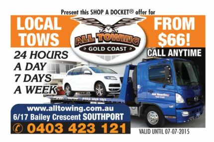 GOLD COAST TOWING! TOW TRUCK SERVICING THE ENTIRE GOLD COAST +++ Gold Coast Region Preview