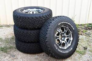 Goodrich Tryres/Wheels x4 Greenfields Mandurah Area Preview