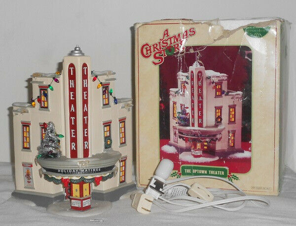 Department 56 A Christmas Story-Uptown Theater-Please Read!!