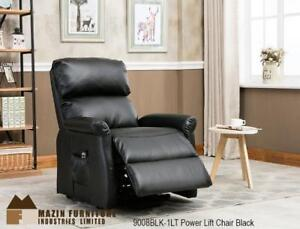 Black Leather Power Lift Chair - Chairs on Sale (BD-2441)
