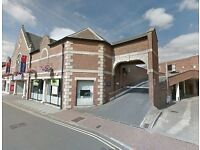 Car park at The George Shopping Centre, central Grantham (ID 4697)