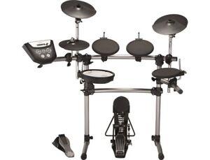 Set Of Roland TD6V Electronic Drums