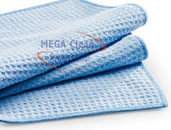 3x MEGA Clean  Mikrofaser Waffeltücher Wassermagnet Autopflege