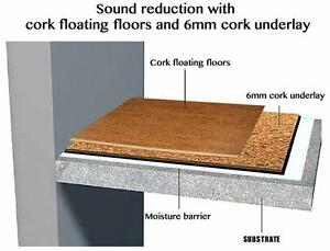 Need some soundproofing for the noise in your home? Cork flooring are a great option.