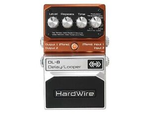 Hardwire DL8 Delay / Looper Pedal