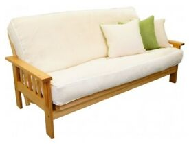 Sofa Fouton Bed with wooden frame.