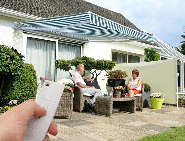 Elektrische Günstige Gelenkarmmarkise Markisen Sonnenschutz Garten Terrasse