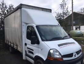 Renault Master LL35 DCI 120 Luton 4m Curtain Side Vehicle For Sale - Bargain