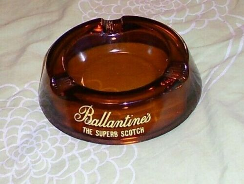 BALLANTINES THE SUPERB SCOTCH WHISKY ADVERTISING WHISKEY ASHTRAY Ø160mm.