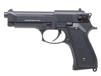 GSG M92 Vollmetall Softair Airsoft Pistole Waffe elektrisch Speedloader 205029 ()