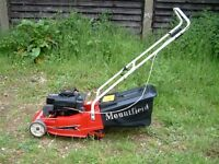 old mountfield lawnmower wanted